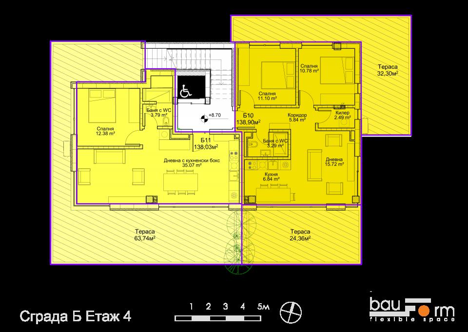 Сграда Б Етаж 4